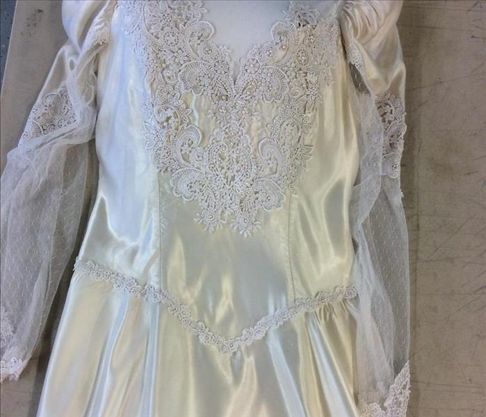 Esporta Wash System Restores Wedding Dress After