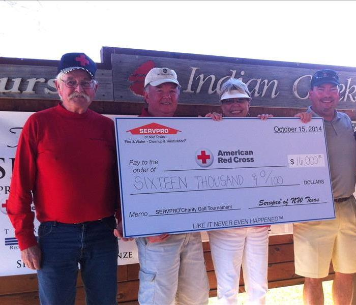 2014 SERVPRO Charity Golf Tournament for the Red Cross
