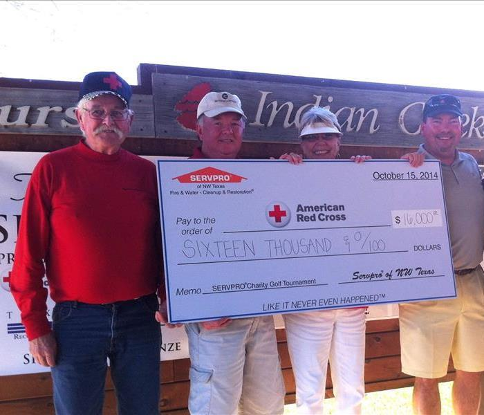 SERVPRO Raises $16,000 For American Red Cross