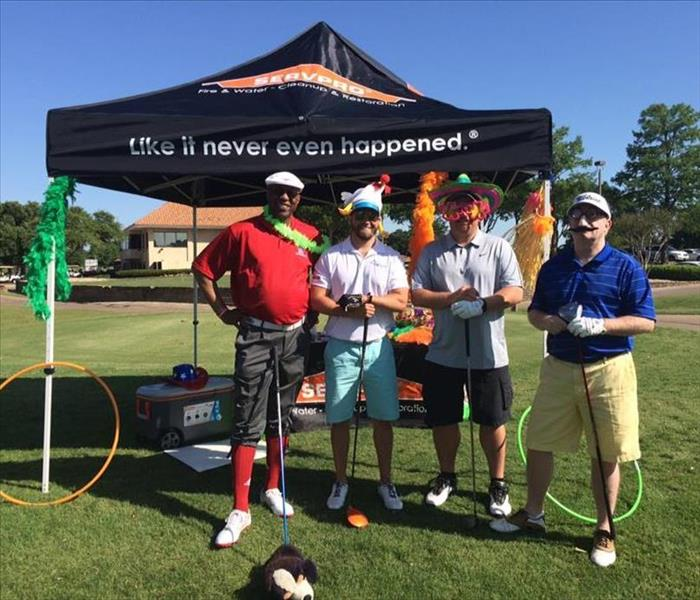 Humiliation Hole at the 2016 Dallas Claims Association Annual Golf Tournament
