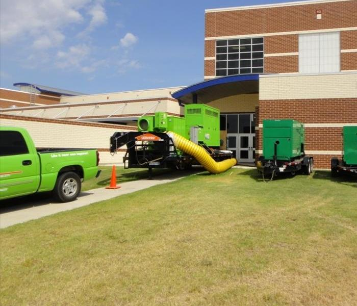 SERVPRO Of Flower Mound Commercial Work