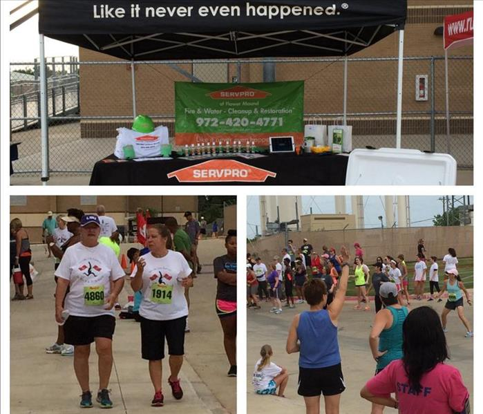 SERVPRO of Flower Mound Sponsors Marcus High School Band 5k
