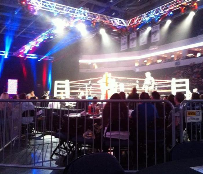 SERVPRO of Flower Mound is Honored to be a Sponsor at Guns And Hoses Annual Boxing Event