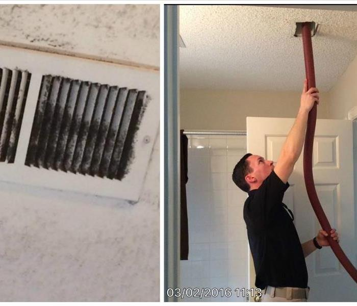 Duct and HVAC Cleaning From SERVPRO of Flower Mound