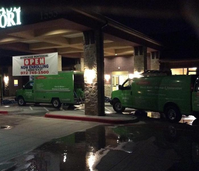 SERVPRO of Flower Mound is ready 24/7.