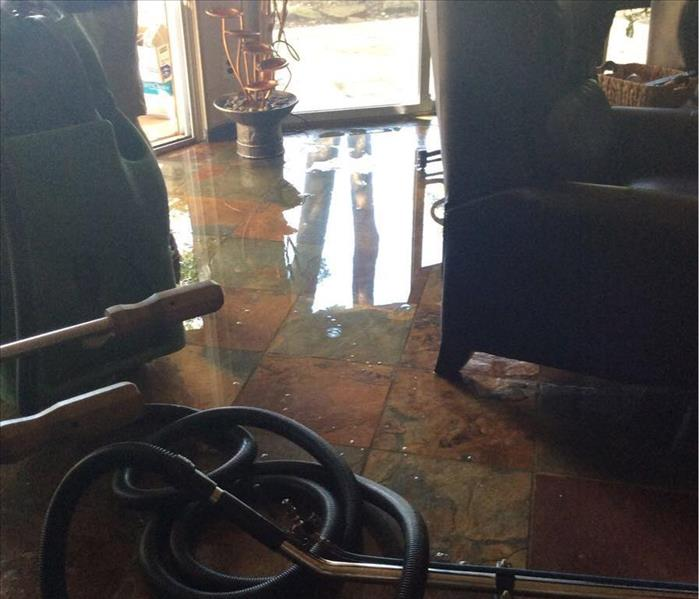 Busted Pipe Causes Flooding in Highland Village Home