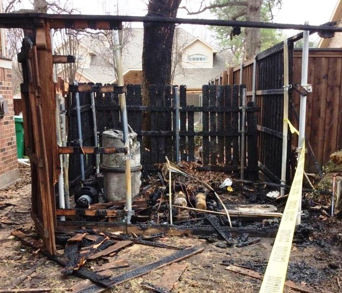 Pool Equipment Catches Fire Causing Two Homes To Be Affected