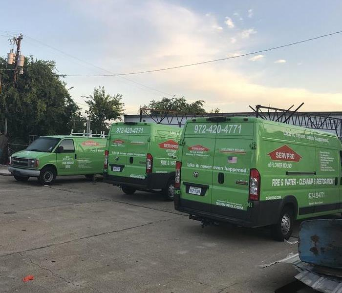 Why SERVPRO Have the resources to handle storms and disasters